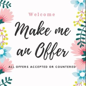 Other - ✨🦋ALL OFFERS ACCEPTED OR COUNTERED